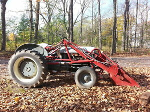 FRONT END LOADER with FRONT PUMP for FORD N Series Tractors