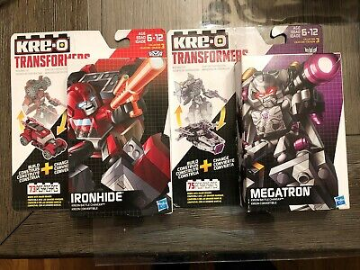 2015 KRE-O Transformers MEGATRON and IRONHIDE Battle Changers Hasbro NIB