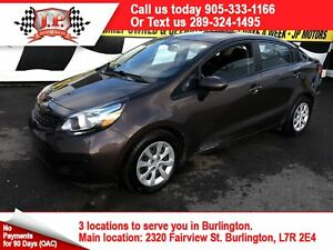 2014 Kia Rio EX, Automatic, Heated Seats, Bluetooth,