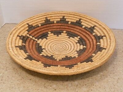 "Navajo Ceremonial Tray, "" Wedding Basket "", Circa 1930, 15 inches"
