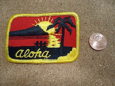 Vintage Aloha Hawaii Patch New Old Stock