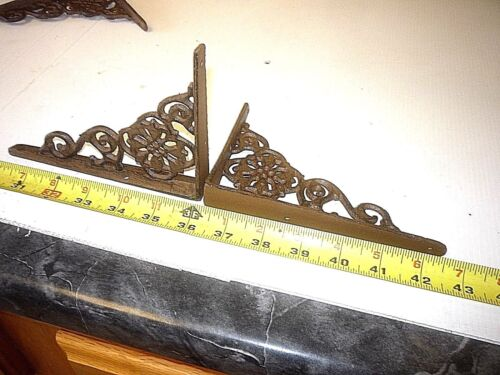2   DETAIL NEW CAST IRON WALL CORBEL  SHELF HANGER & WINDOW BRACKET