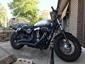 2011 Harley Davidson Forty Eight XL1200X with 18ltr bullet tank Munno Para Playford Area Preview