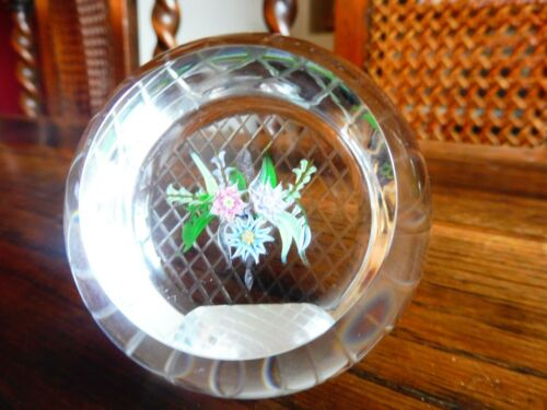 Caithness Whitefriars Paperweight Limited Edition Hanging Basket