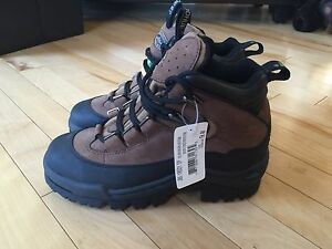 Brand New Steel Toed Work Boots - Size 7 men, Size 9 women