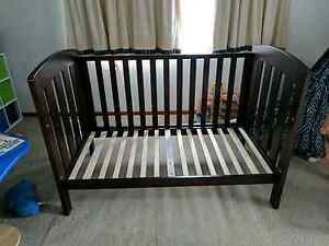 Boori Cot baby toddler bed used free optional matress Moonah Glenorchy Area Preview