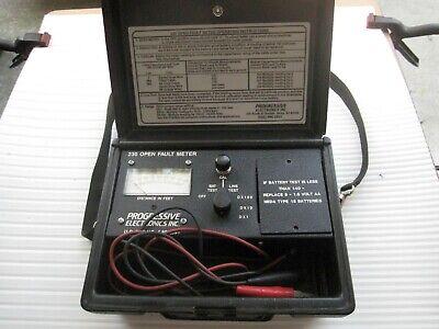 Progressive Electronics 230 Open Fault Meter
