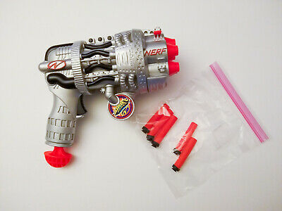 Lightnin' Blitz Nerf Dart Gun Airjet Power 5-Shot Hasbro Vintage 1998 Beautiful