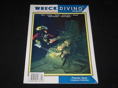 2004 WRECK DIVING MAGAZINE- UNCOVER THE PAST - PREMIER ISSUE - O 9914
