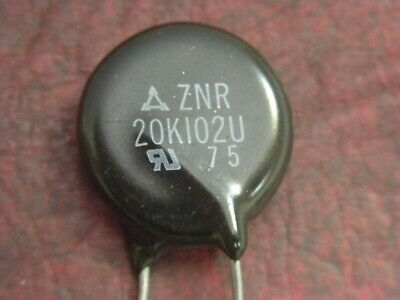 Lot Of 3 Panasonic Znr20k102u Mov Metal Oxide Varistor New-old-stock