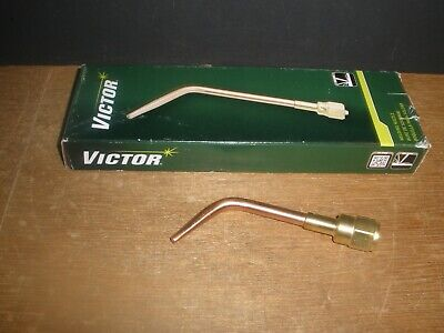 Victor 0324-0070 Welding Nozzle Brazing 0-w-1 Tip Size 0