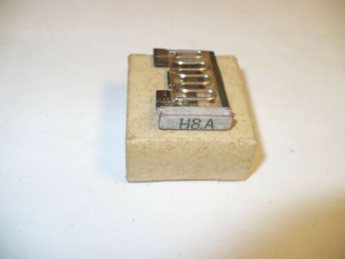 1 pc. Eaton MSH8.A Overload Heater Element for MS Series Motor Starters, New
