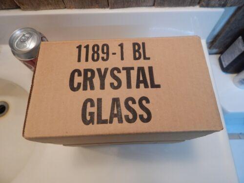 3 Hand blown crystal Votive Cups Homco Home Interior Ruffled Edge Design