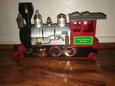 Rocky Mountain Golden Line Express Bump N Go Toy Train W  Authentic Horn Sound