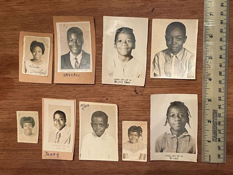 Vintage photos African American class school photos 1960