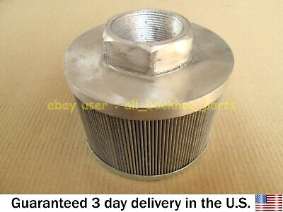 Jcb Backhoe - Hydraulic Tank Filter Strainer Suction Part No. 32908100