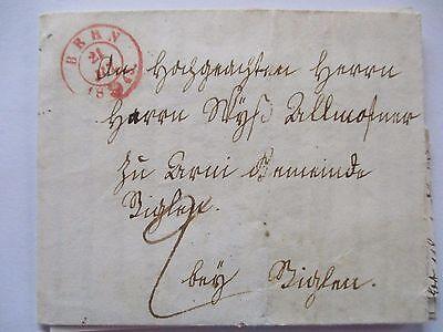 Schweiz, Vorphila 1845 aus Bern (Brief mit Text) (8535)
