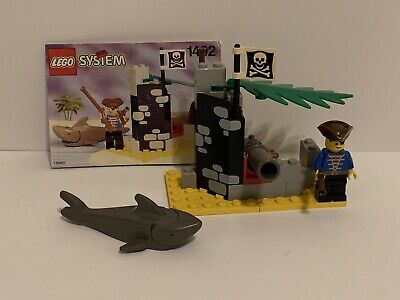 LEGO System 1492 Battle Cove 100% Complete Instructions Cannon