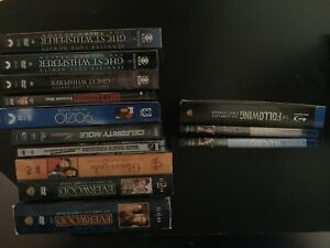 Tv shows on DVD and blu Ray