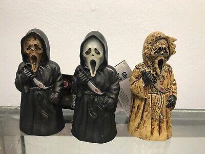 Scream Halloween Decorations (Fun World 2010 Set of 3 Scream Official Ghost Face Halloween Pocket)