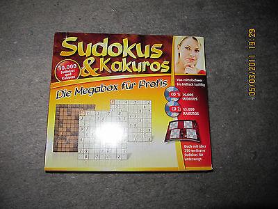 Sudokus & Kakuros - Die Megabox für Profis : 2 CDs & 1 Buch  Weihnachtsgeschenk ()