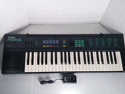 Yamaha PSR-6 Portable Electronic Keyboard Synthesizer Portatone Vintage 80's for sale  Shipping to India