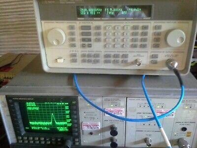 Hp Low Frequency Spectrum Analyzer Working 100hz-2.9ghz 10hz Resolution -134dbm