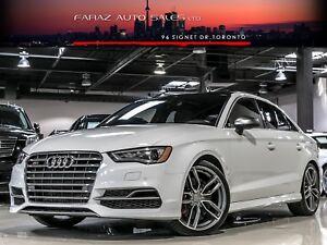 2015 Audi S3 TECHNIK|B.SPOT|B&O|NAVI|REARCAM|PUSHSTART