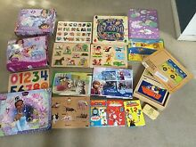 Large selection girls puzzles and games wood Educo, Frozen, etc Clovelly Eastern Suburbs Preview