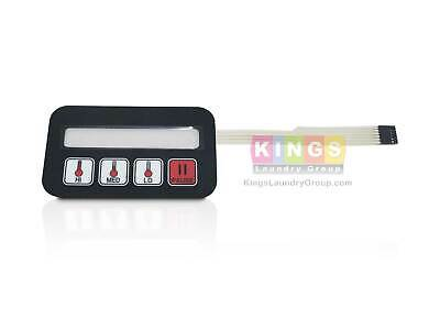 Phase 7.3 Coin Keypad Tactile For Adc American Dryer Part 112575112579 White