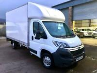 """Citroen Relay 2.2HDi 130ps 35 L3 Luton with Taillift 13'6"""" Body 65 Registration."""