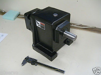 Stober Drive Inc. Precision Gearhead C30zn0310mt20 Ratio 31.01 3100 In-lbs