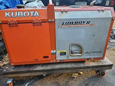 Kubota Gl7000 10.9hp Portable Diesel Generator