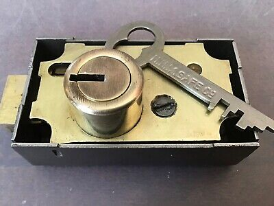 High Security Hhm Safe Deposit Box Lock With Key Lever Lock Locksport Locksmith