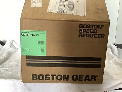 Boston Gear Speed Reducer F226d-20-b5.39228