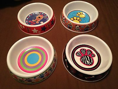 Cute Prints Pet Bowl Large or Small Dog or Cat  ***FREE SHIPPING*** (Cute Large Dogs)