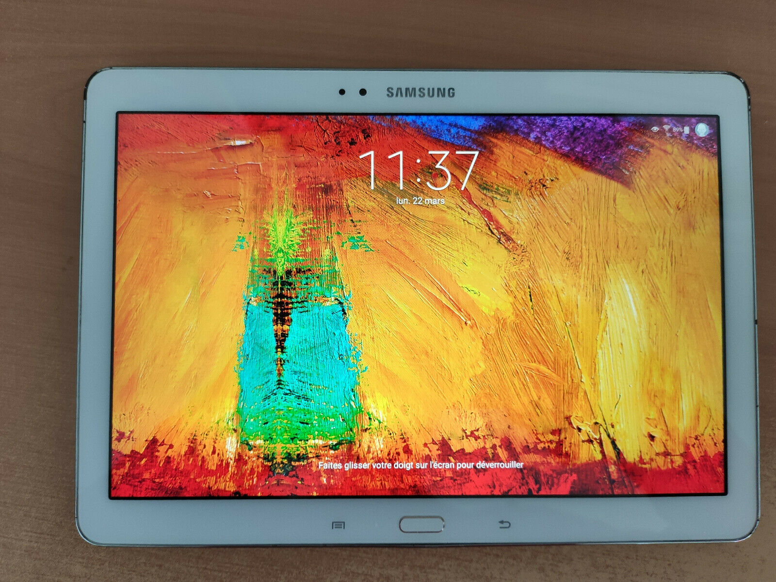 Tablette samsung galaxy note 10.1