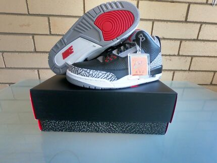 Air Jordan - Black Cement 3 (2018) - Size 9