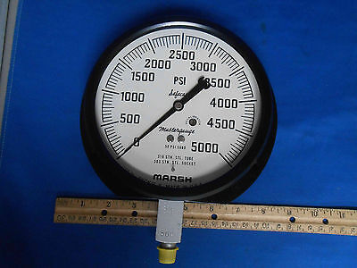 60-1379tas02l5000 Gage Pressure 0-5000 Psi New Old Stock