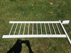 Above ground swimming pool fence