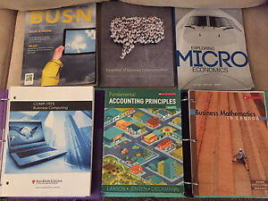 Business Administration Red River College Textbooks