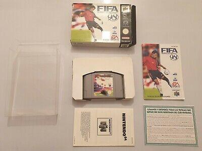 FIFA 98 Rumbo al Mundial Nintendo 64 N64 pal España COMPLETO LEER BIEN!