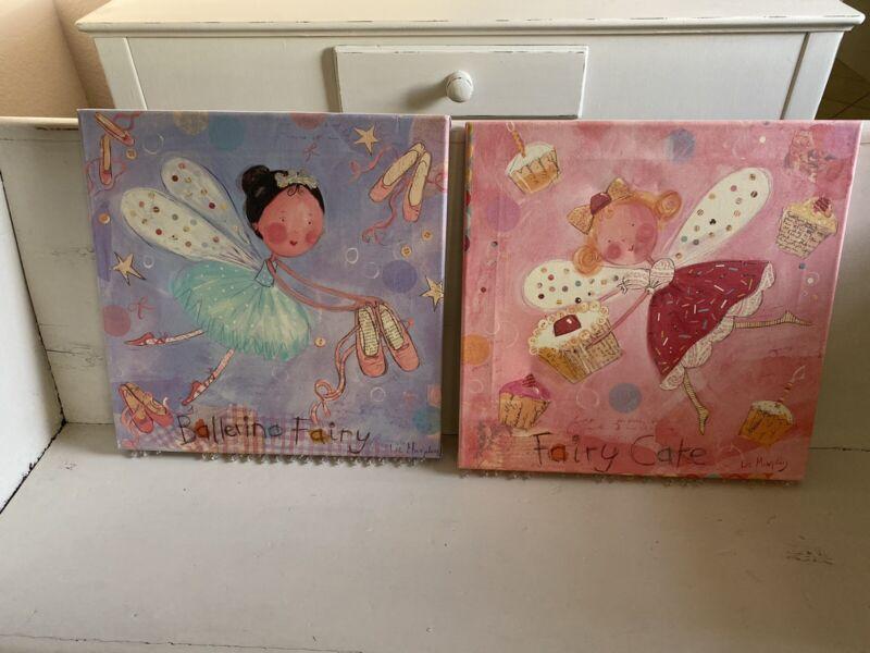 Fairy Canvas Pair