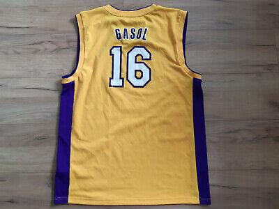 LA LAKERS! GASOL! NBA shirt trikot maglia camiseta kit jersey! 5/6 ! L - adult# comprar usado  Enviando para Brazil