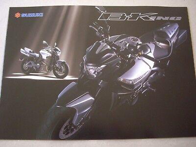 Suzuki B-King sales brochure GSX1300 Hayabusa