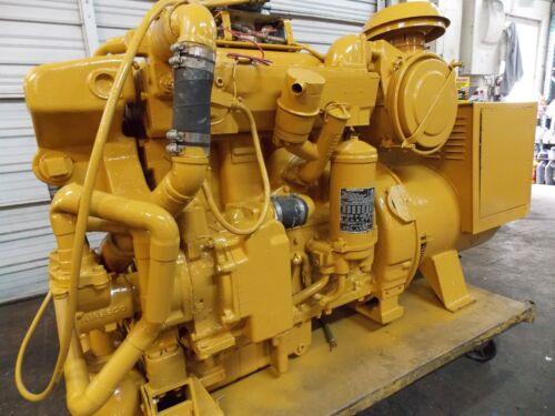 """Caterpillar Generator D330 """"cat"""" Marine Diesel Engine Rated 100kw"""