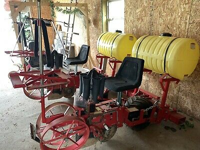 Mechanical Transplanter 5000wd 2 Row Hemp Seeder Planter Produce Planter