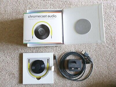 Google Chromecast Audio - comes complete and in original box.