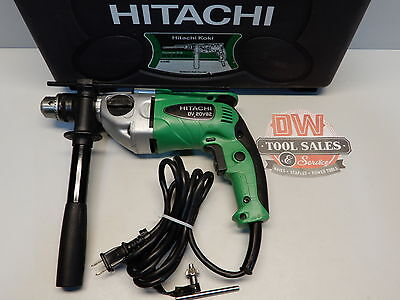 Hitachi 8.3 Amp Variable Speed Hammer Drill Factory Reconditioned 2 Mode