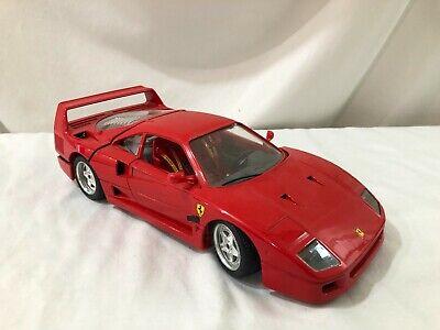 1/18 scale Model BURAGO 1987 Ferrari F40 red